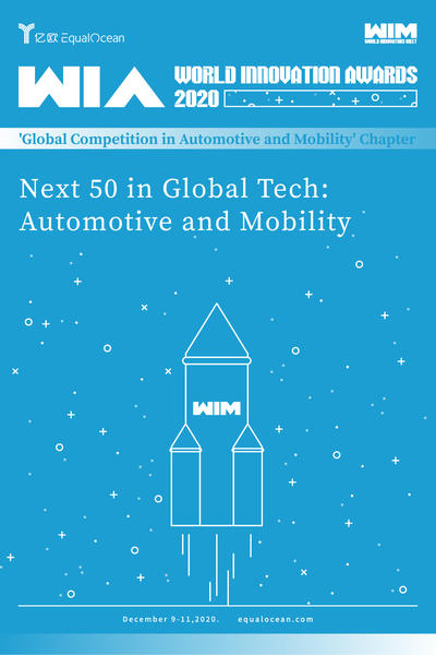WIA2020 | Next 50 in Global Tech: Automotive and Mobility