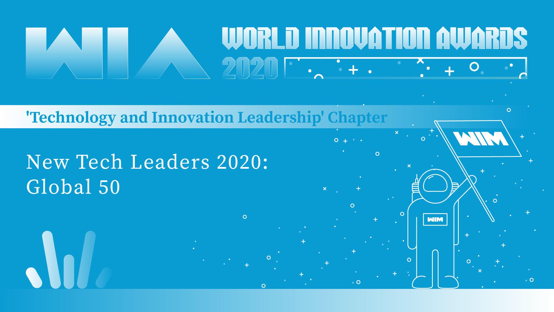 WIA2020   New Tech Leaders 2020: Global 50