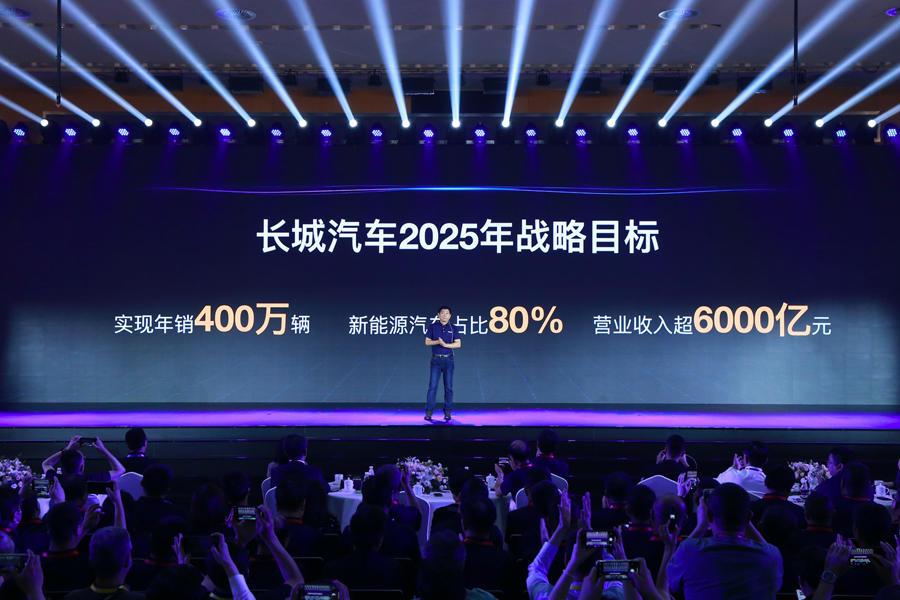 Great Wall Motor 2025 strategic objectives