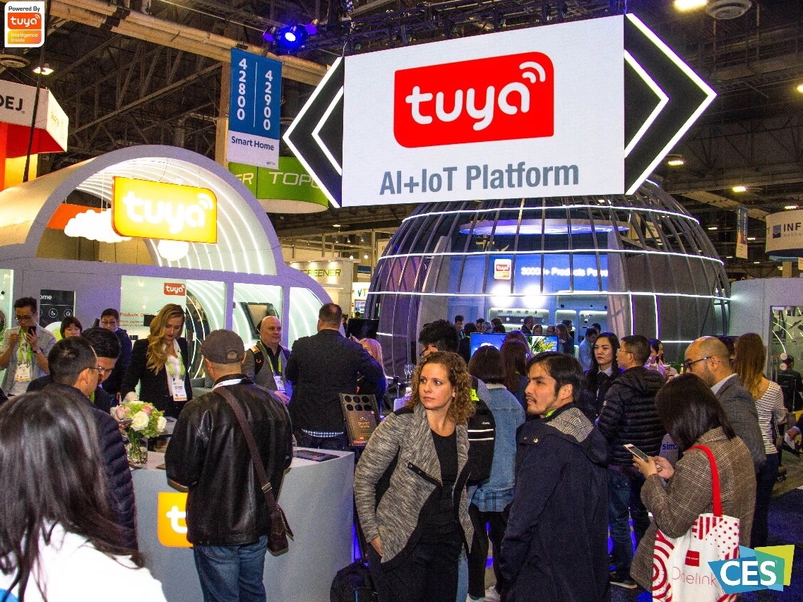 Tuya Smart Reveals AI Home Security and Smart Office Solutions at CES 2019