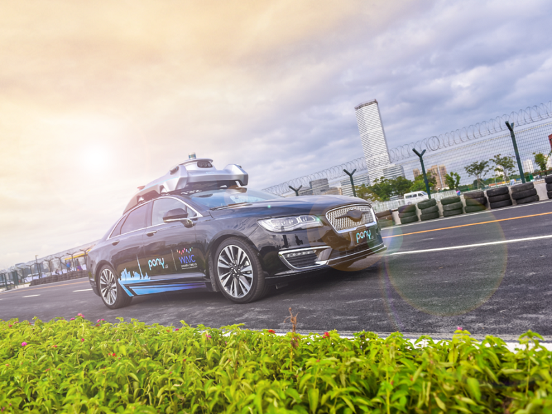 Pony.ai Launches Driverless Car Ride-hailing App in China
