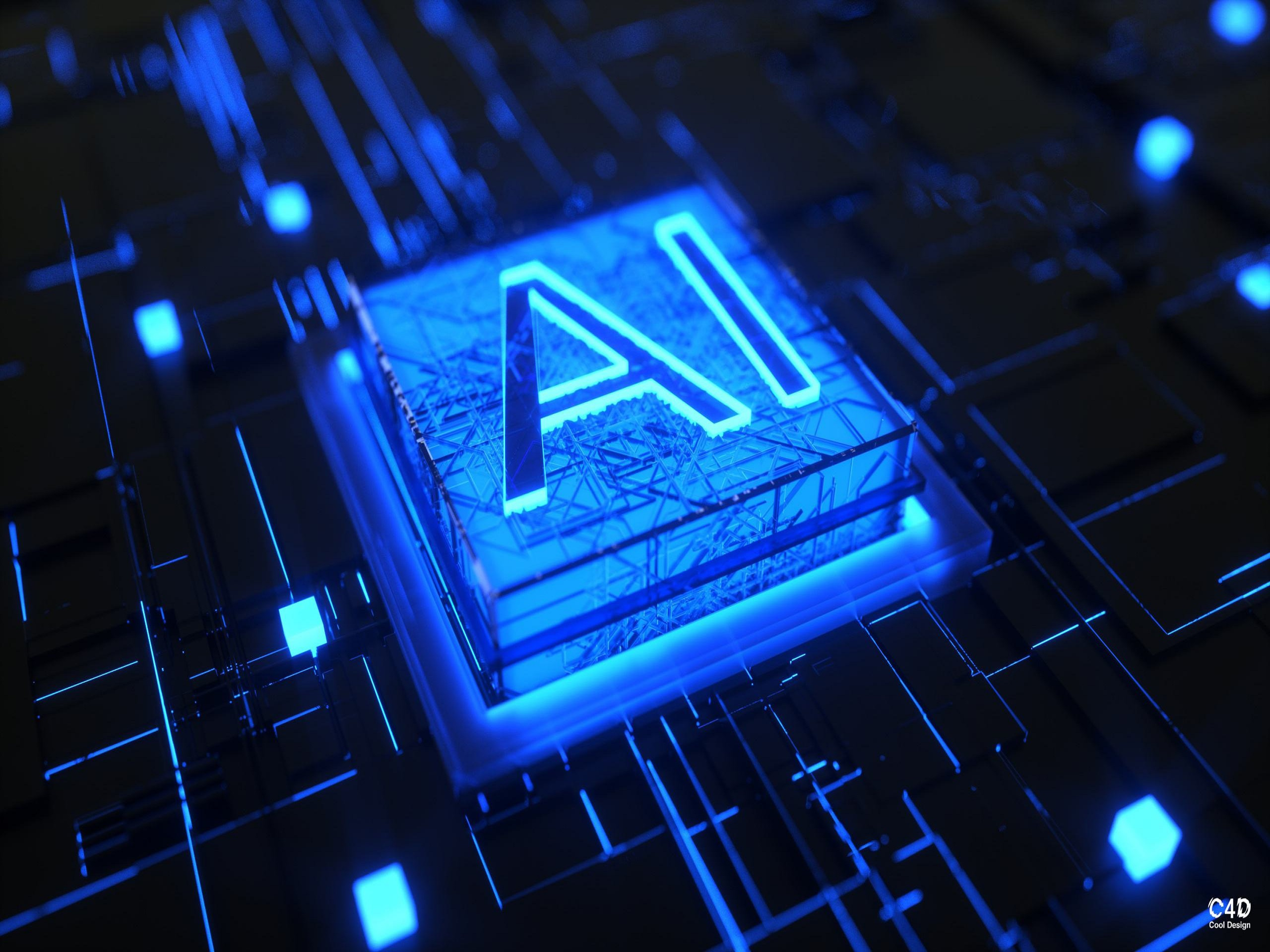 The AI chip. Photo: Credit to ZCOOL.