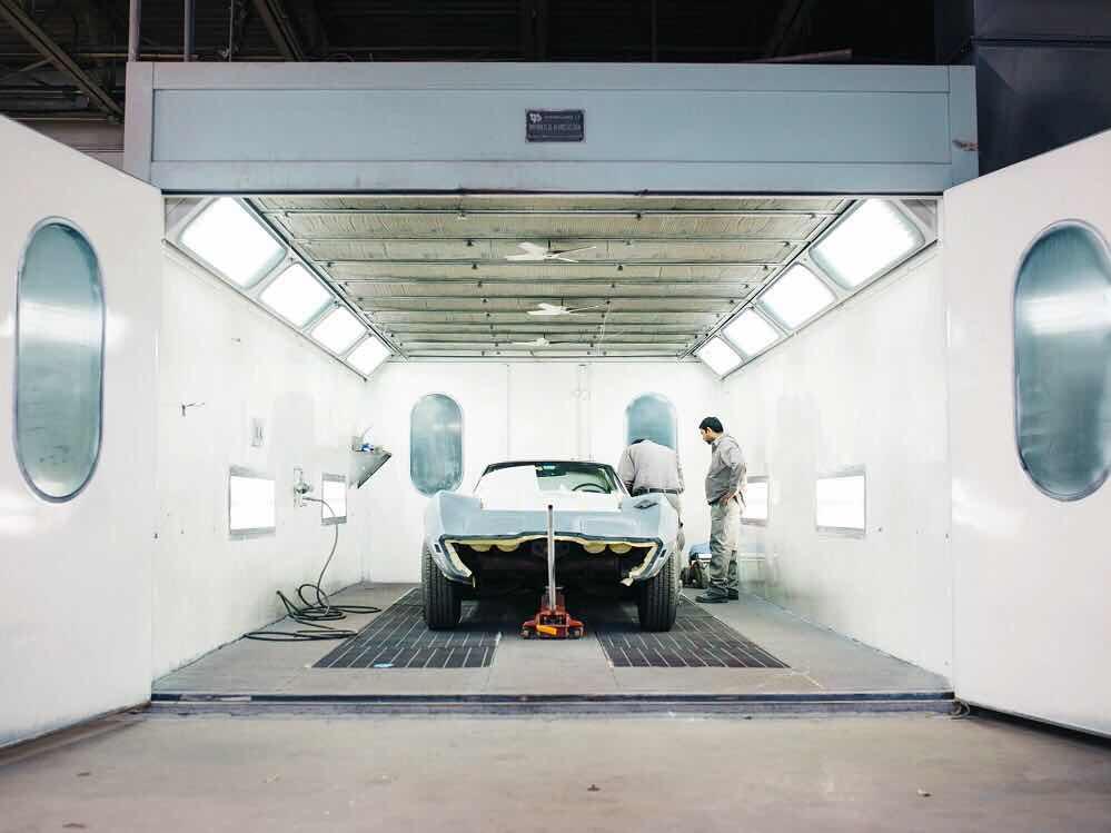 Silver Car in Hangar. PHOTO: Unsplash
