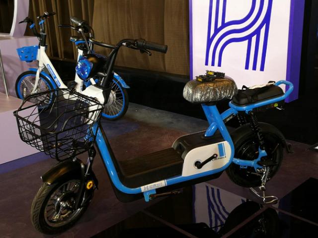 HelloBike electric bike. Image credit: Dahe News