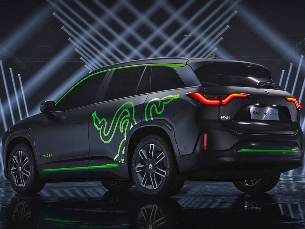 NIO and Razer Team up to Assemble a Limited Addition SUV
