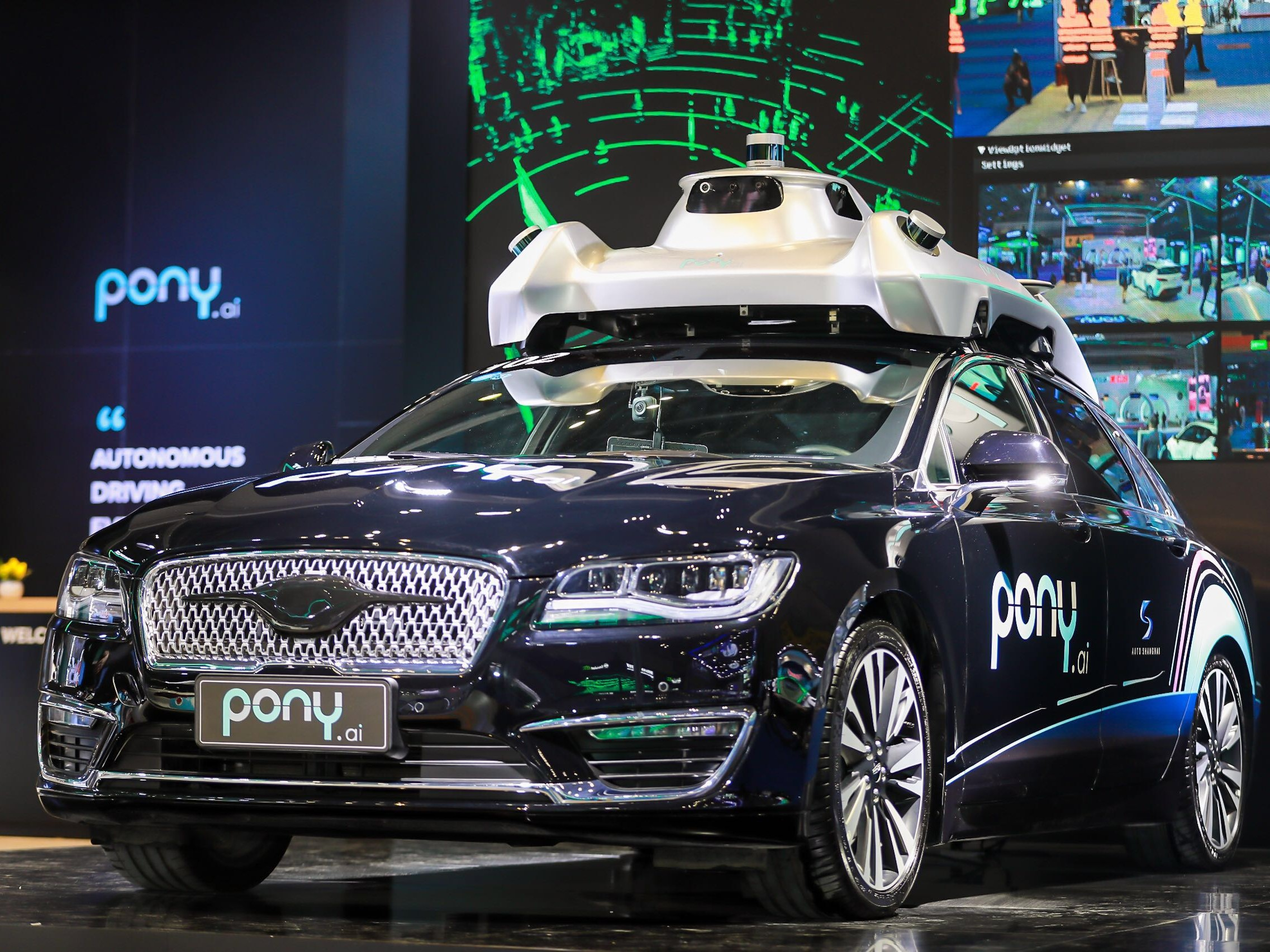 Pony.ai Partners with Toyota in Self-driving Field