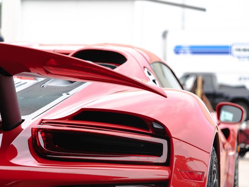 Red red vehicle close-up. Image credit: Cameron Kitson/Unsplash