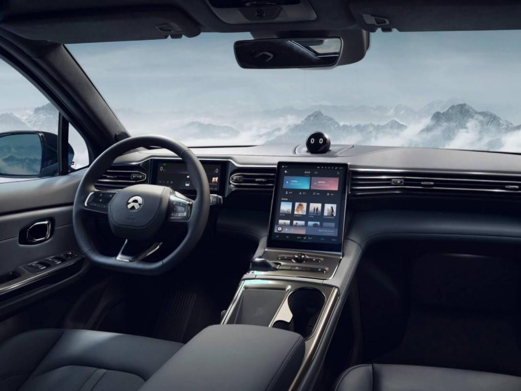 Interior view of NIO SUV. Image Credits: NIO Official Website