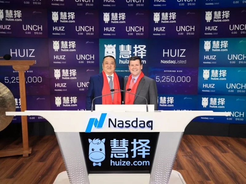 Chinese Insurance Marketplace Huize Falls on First Day of Trading on Nasdaq