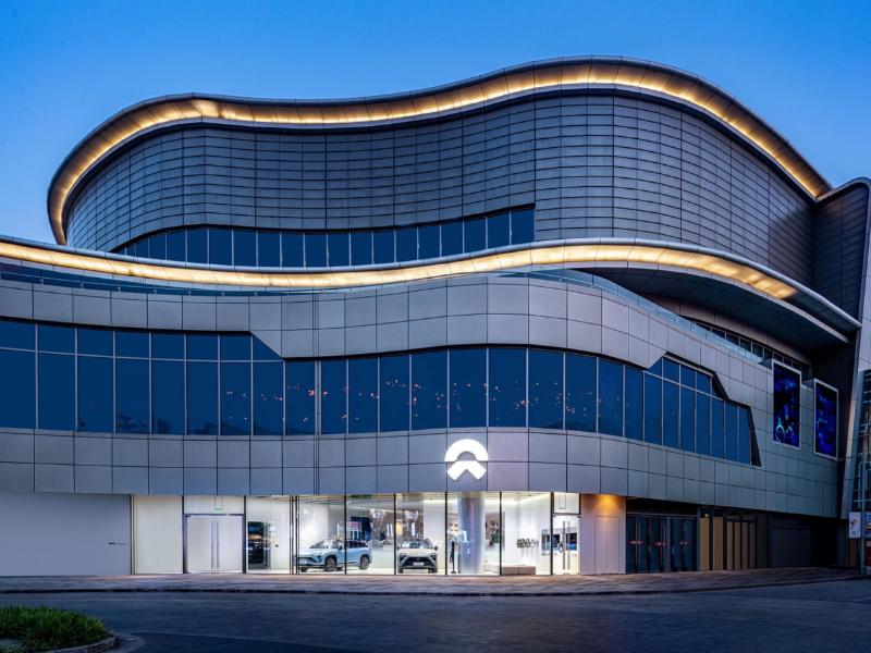 NIO's luxury NIO House. Image Credit: NIO