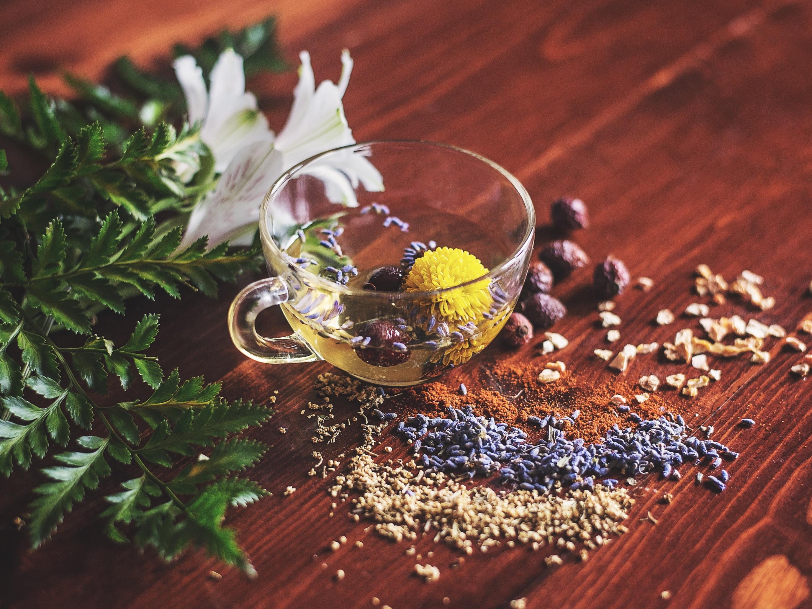 The herbal tea has healing effect on human bodies. Image credit: Lisa Hobbs/ Unsplash