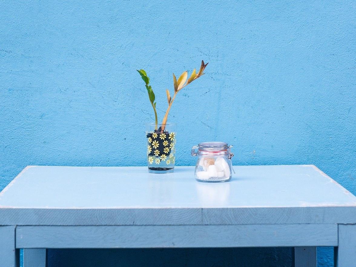 The Blue Tone Decoration.Image Credit: Pixabay