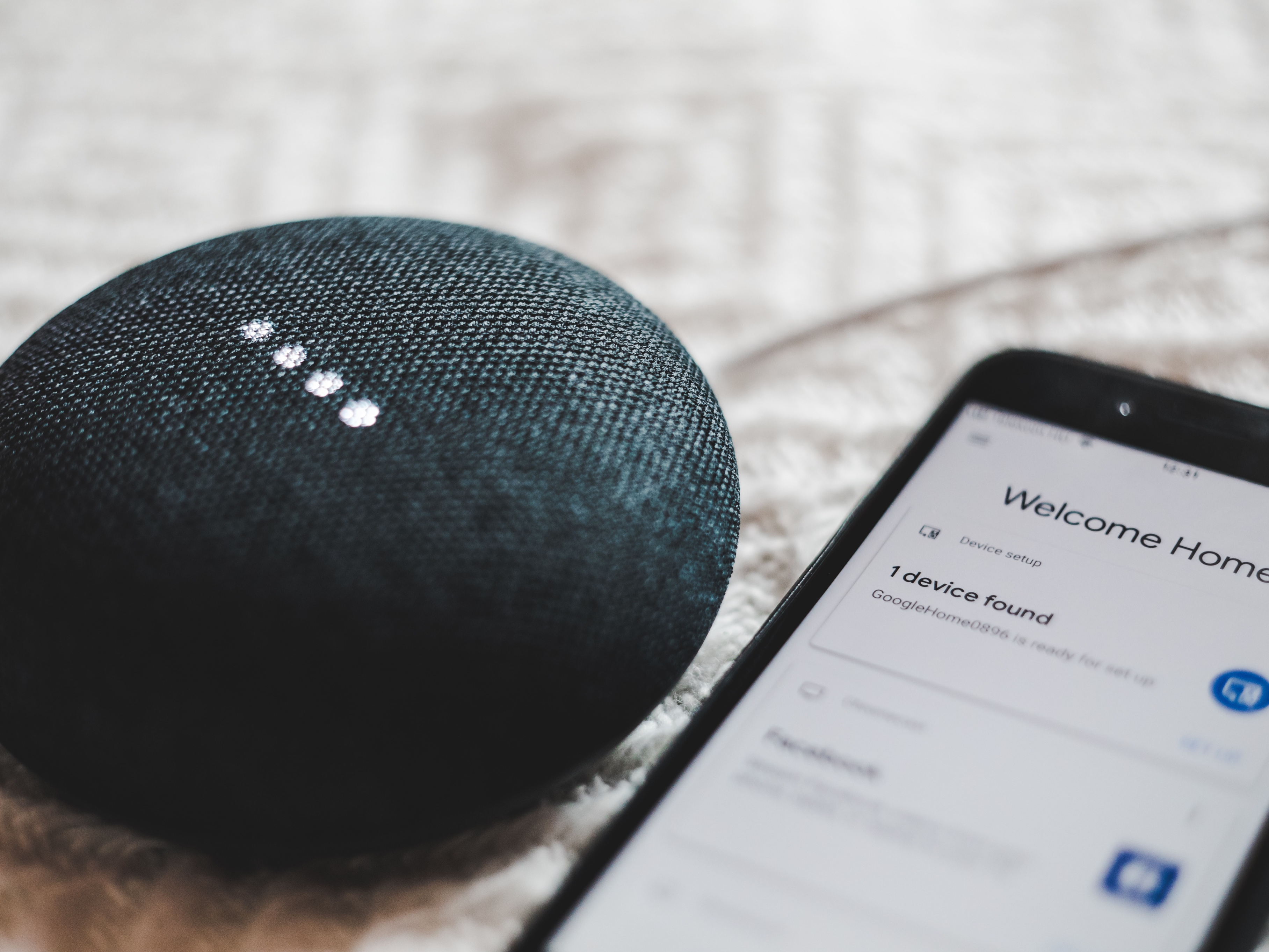 A smart device that can be connected to phones. Image credit: BENCE BOROS/Unsplash