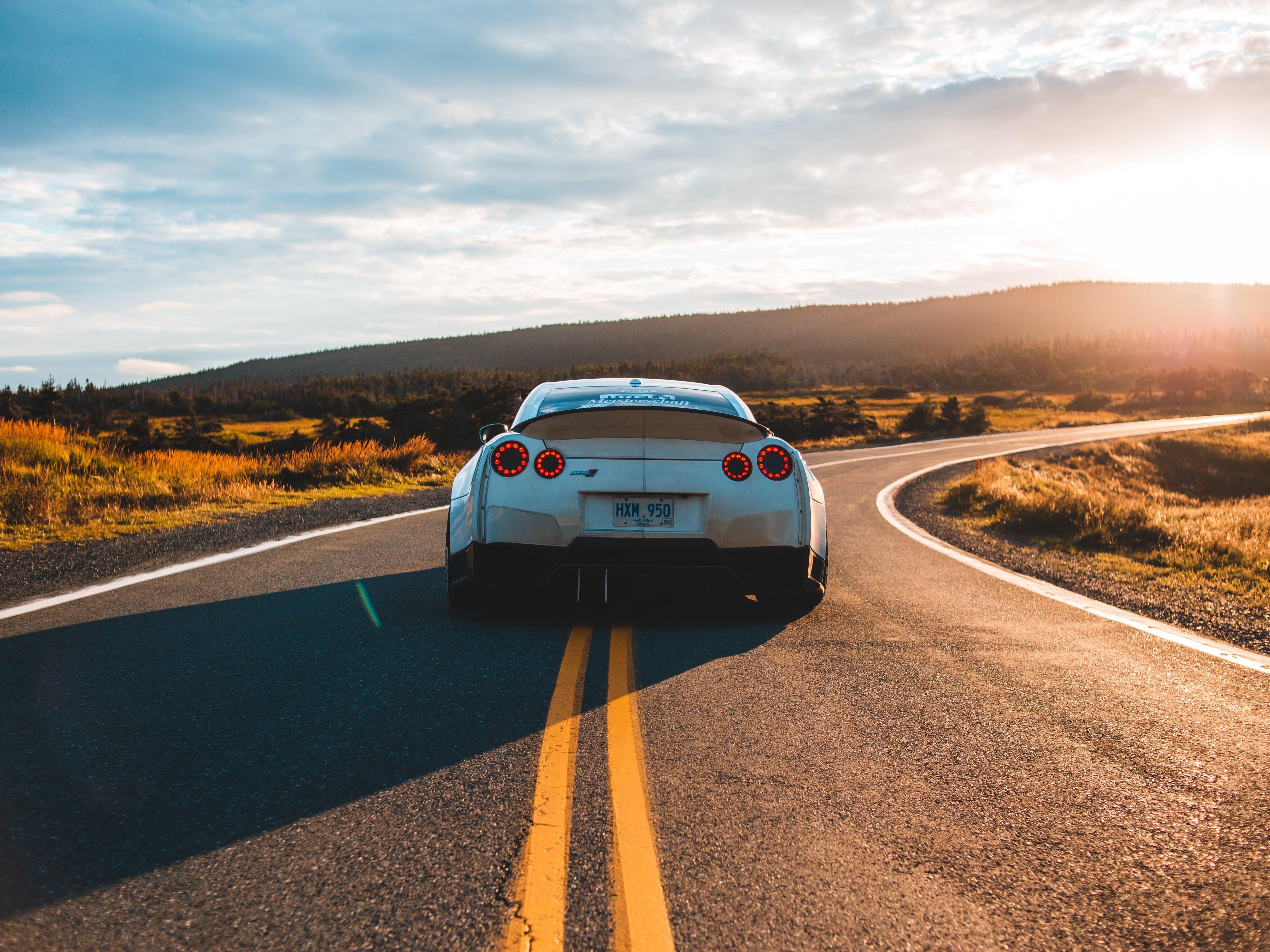 A car on the road. Image credit:  Erik Mclean/Unsplash