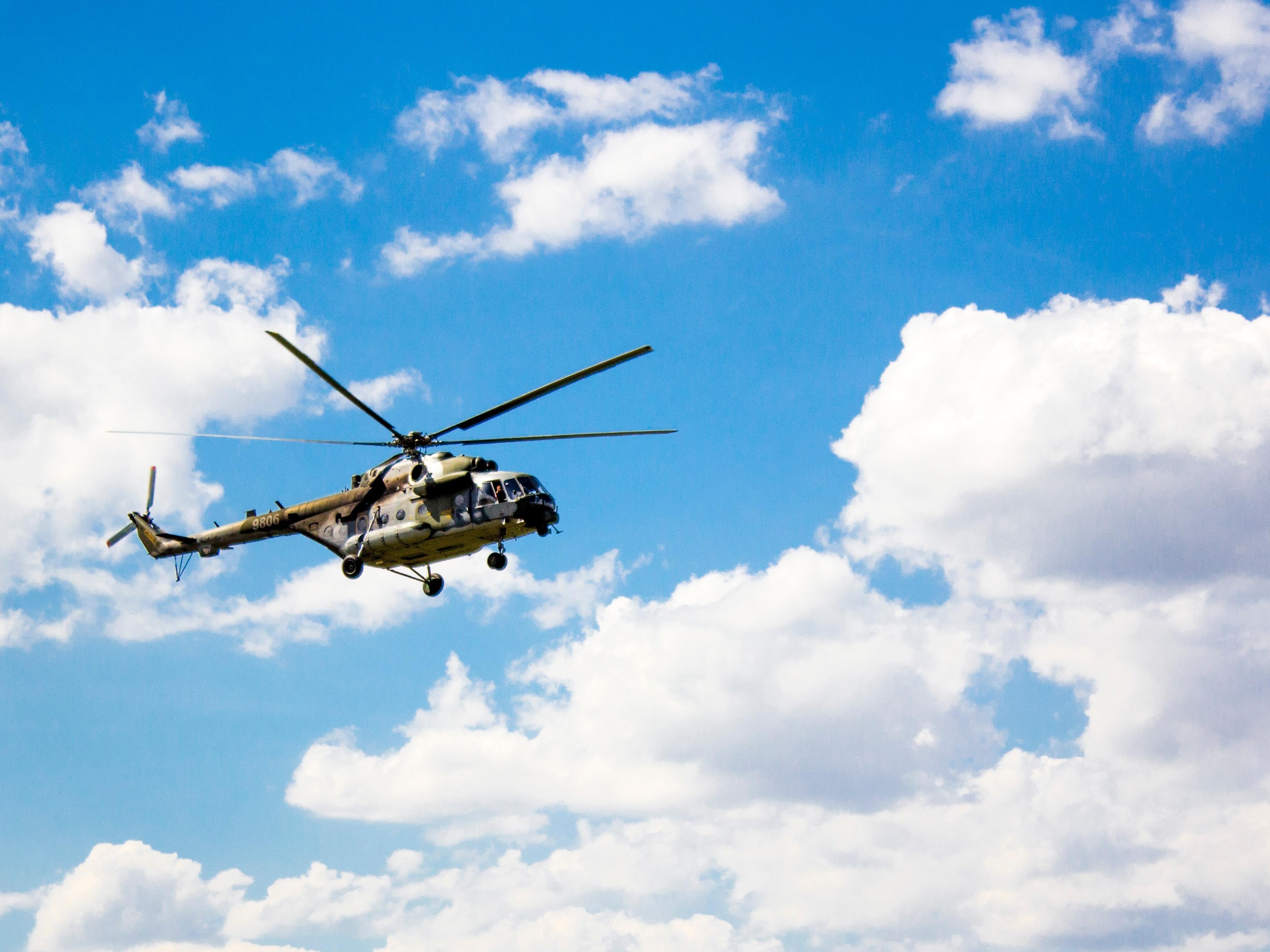 A helicopter. Image Credit:  Antonín Daněk / Unsplash