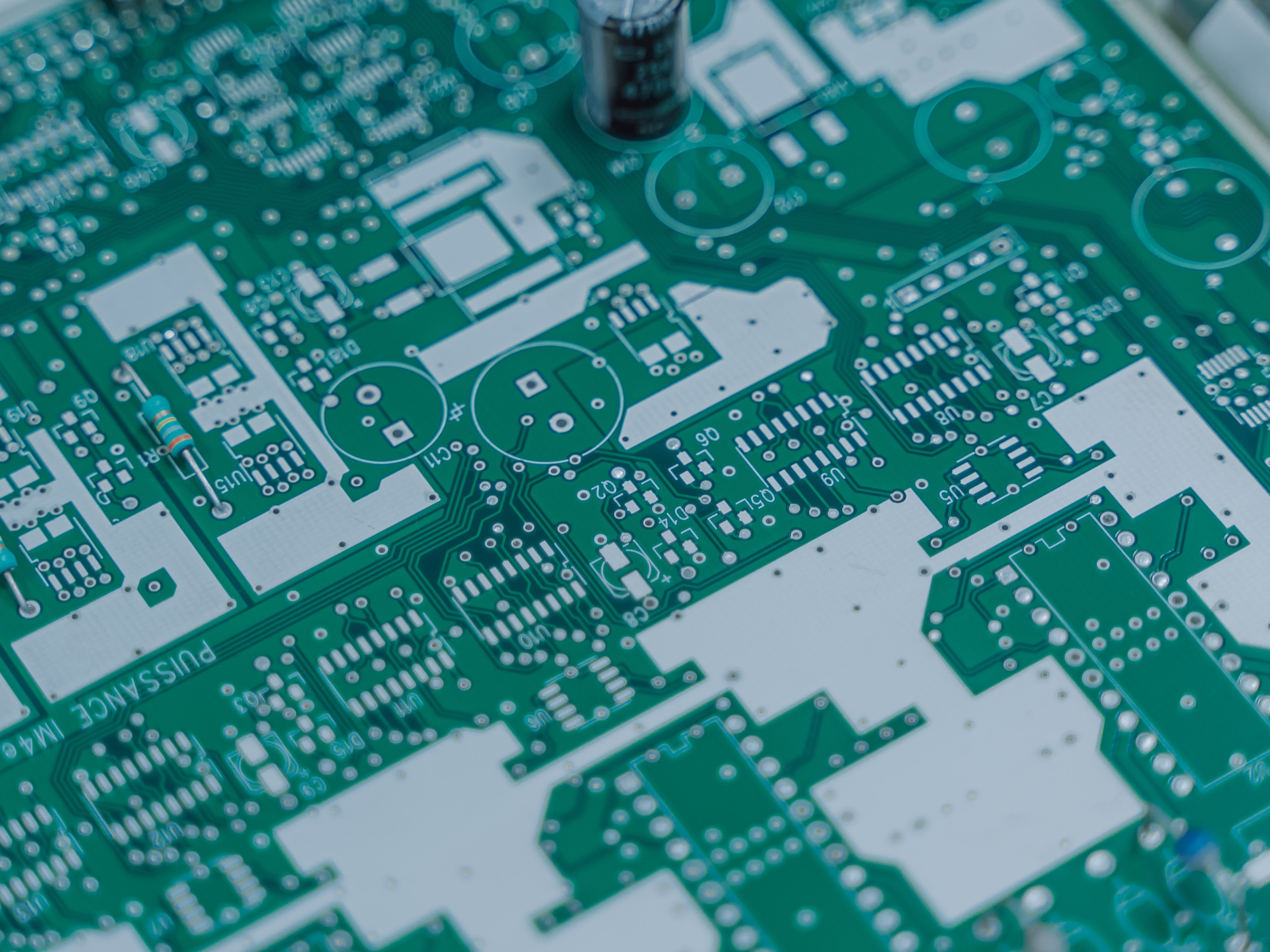 Microelectronics -- new or old? Image credit: Unsplash/ Florian Olivo
