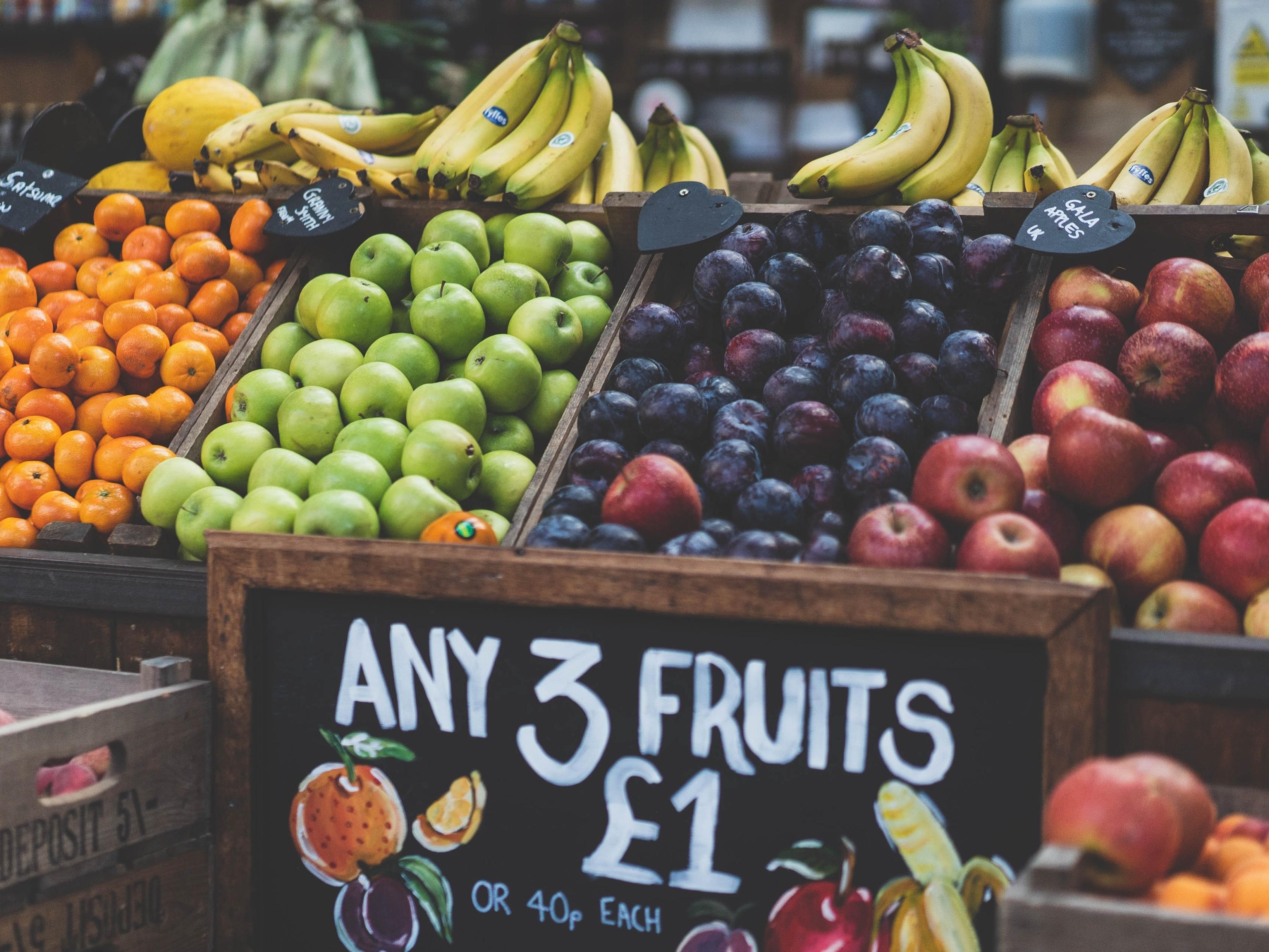 Fruit Market. Image Credit: Tom Grunbauer/Unsplash