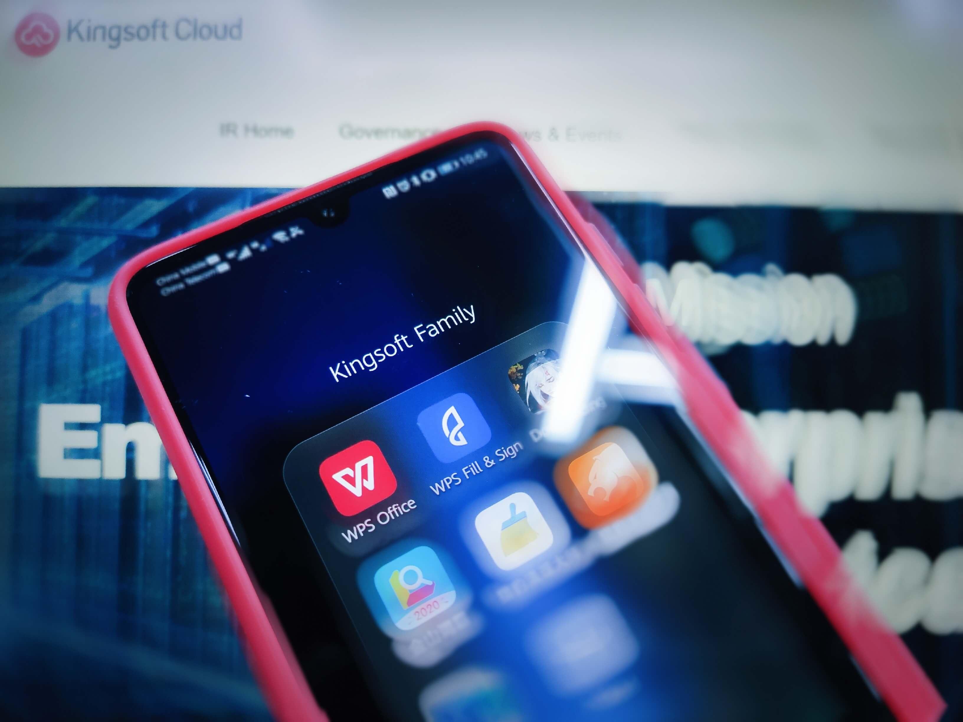 Kingsoft family mobile apps (part). Image credit: EqualOcean