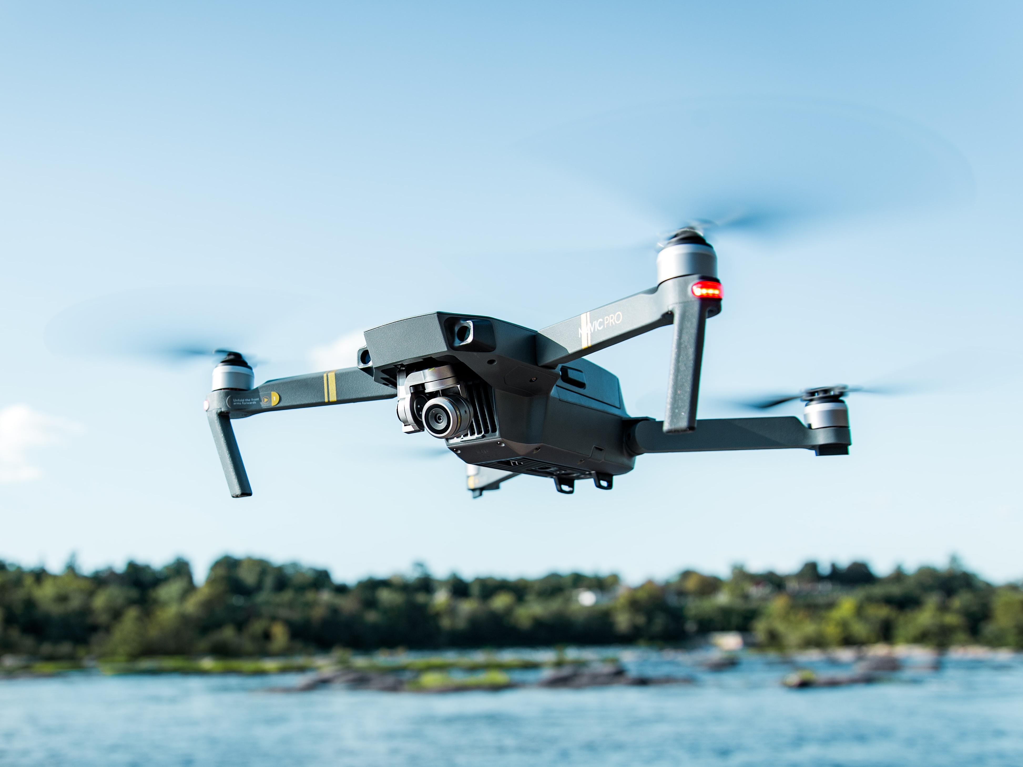 A drone. Image Credit:   Christine Sandu / Unsplash