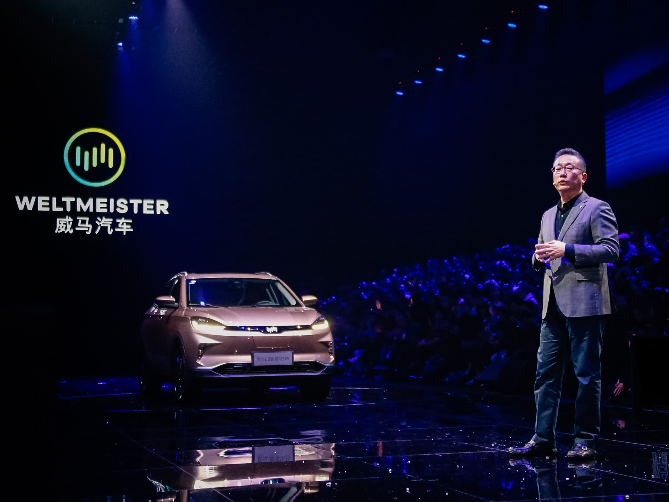 WM Motor's Founder, Chairman and CEO, Freeman Shen. Image credit: WM Motor