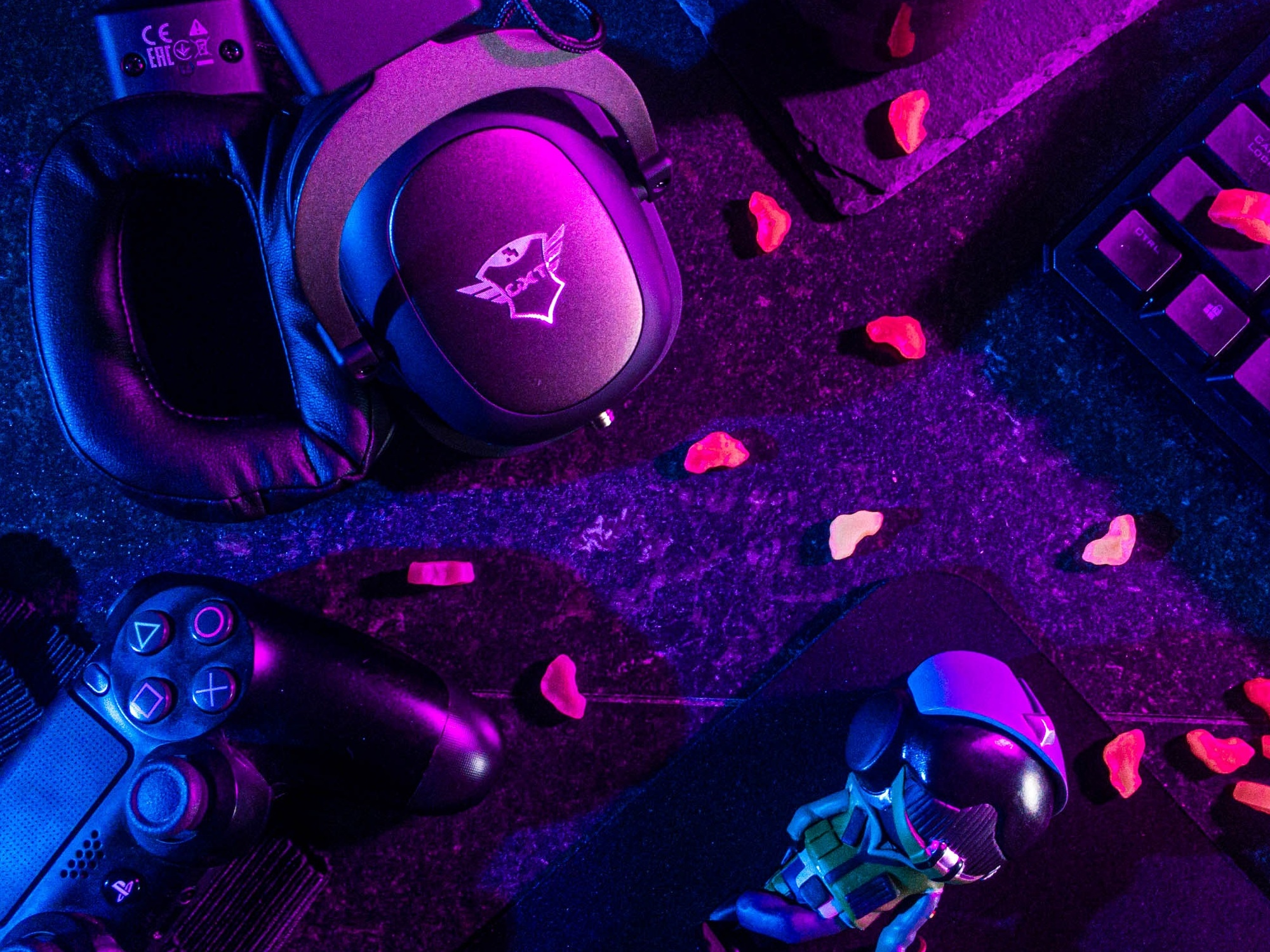 eSports games need much equipment. Image credit:  Lucie Liz/  Pexels