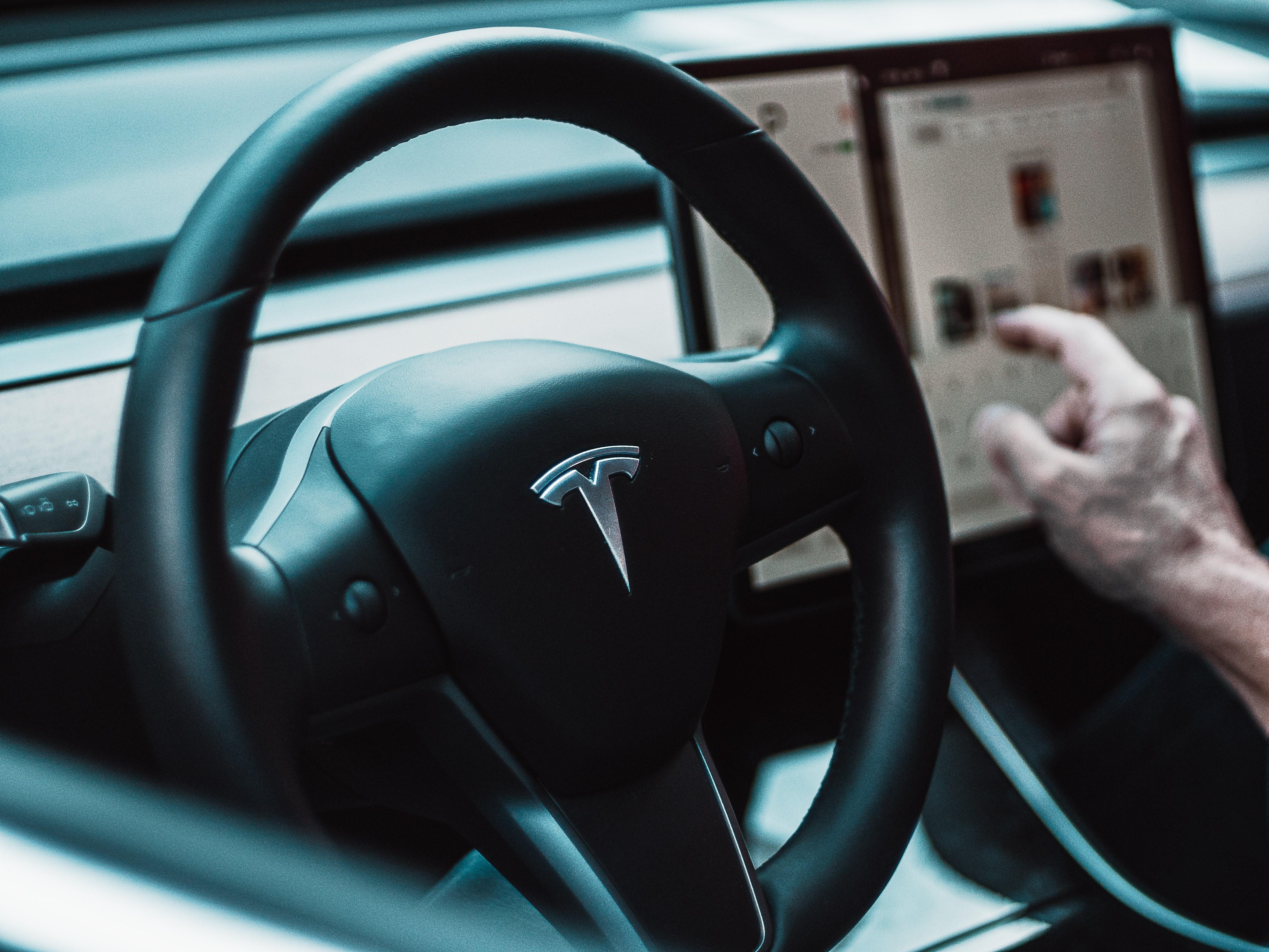Tesla cockpit. Image credit: David von Diemar/unsplash