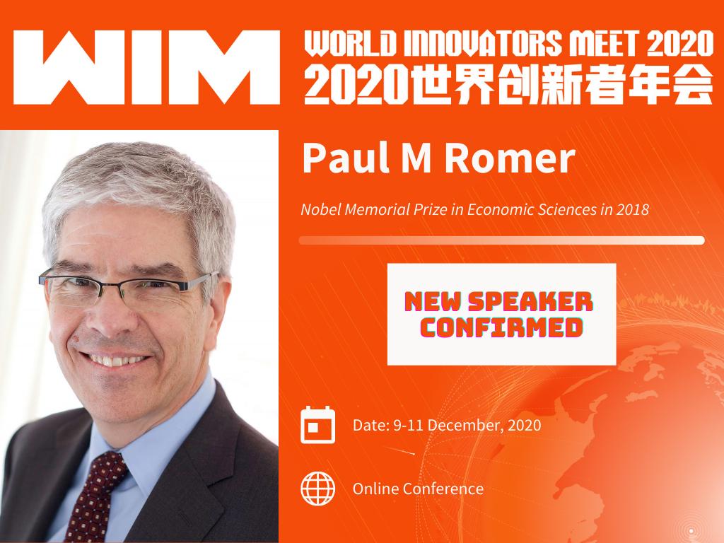 Nobel Prize Winner Paul Romer