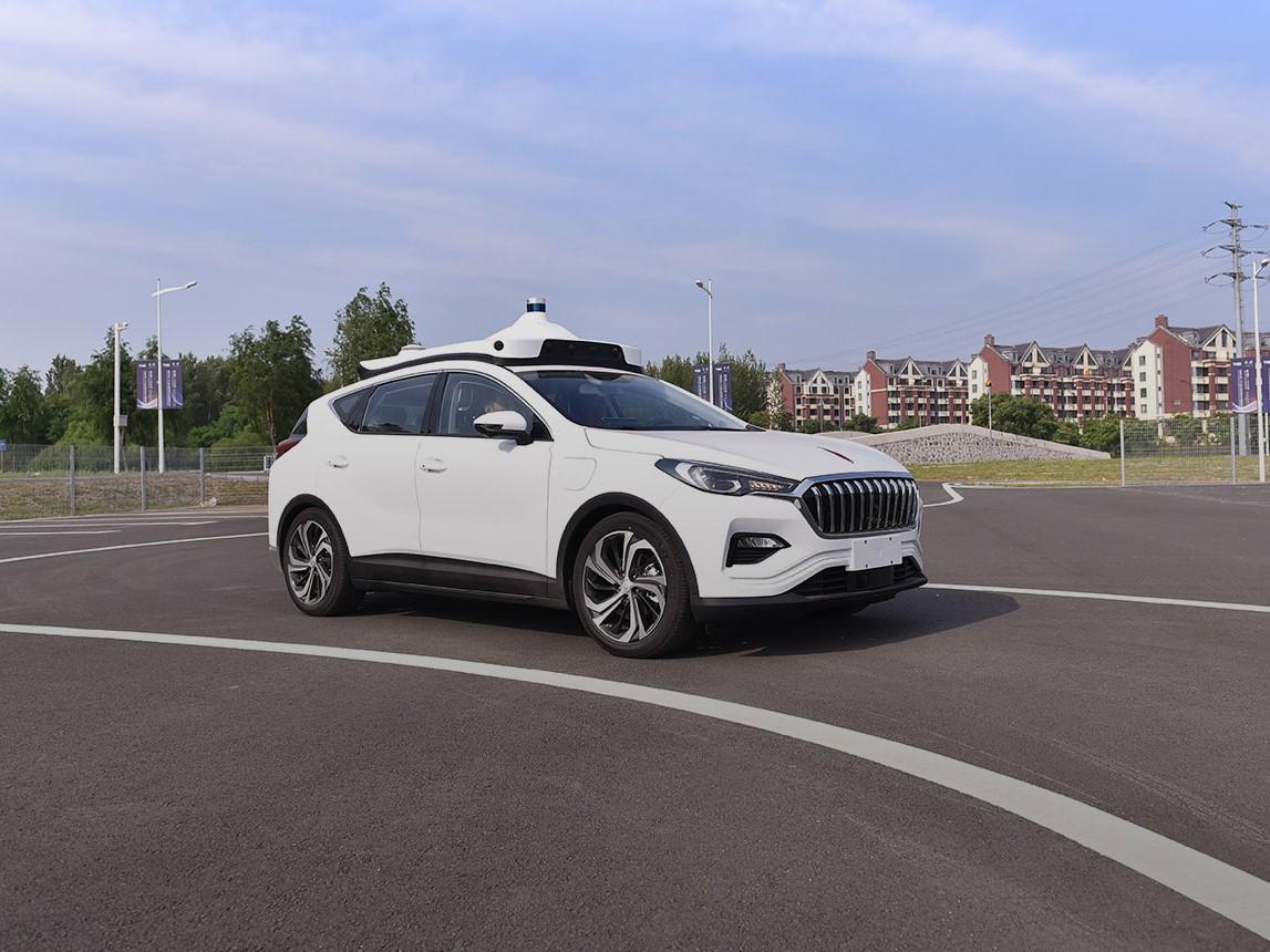 Baidu's self-driving tech. Image credit: Baidu Apollo.